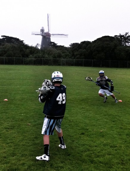 The interceptor lacrosse practice windmill beach chalet