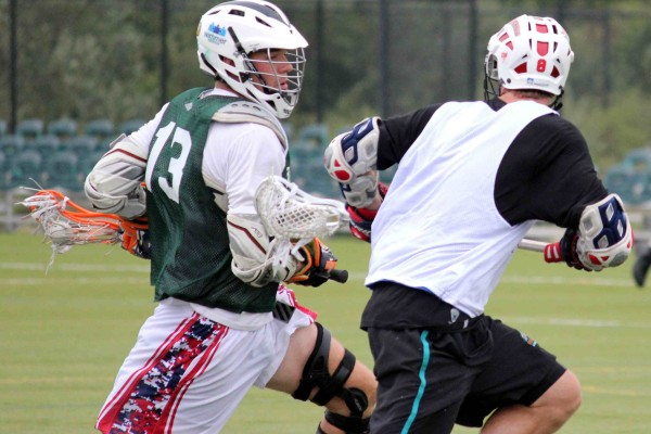 Team Jesse Greg Downing Andrew Wasik Lacrosse Brooklyn Brawl lax