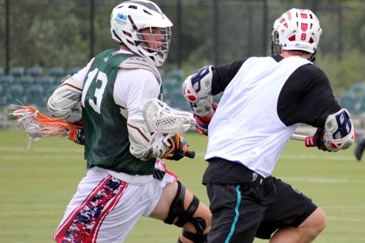 Team Jesse Greg Downing Andrew Wasik Lacrosse Brooklyn Brawl lax