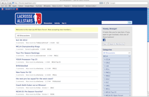 Lax All Stars Forums