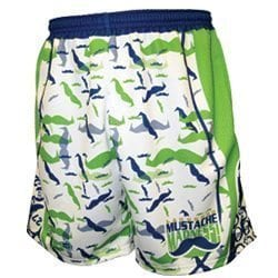 Mustache-madness lacrossewear headstrong shorts lax