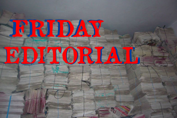 Friday Editorial
