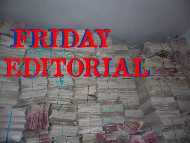 Friday Editorial