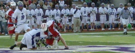 MCLA lacrosse game