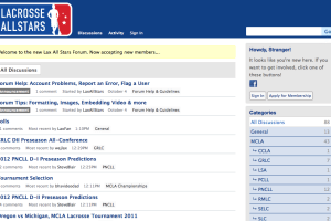 LaxAllStars forum screenshot