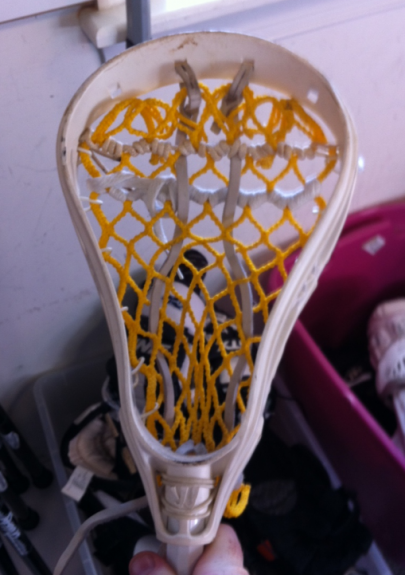 Warrior Cobra lacrosse head old school