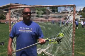 Ansley Jemison explains the Iroquois Lacrosse Program