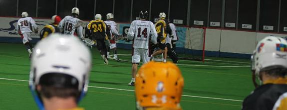 ELL box lacrosse Prague Sports Bats Lacrosse