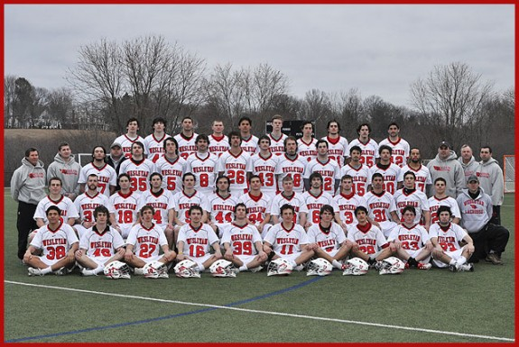 The 2011 Wesleyan Men's Lacrosse Team
