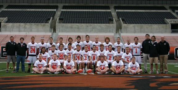 OSU Mens Lacrosse then and now Oregon state lax beer sponsor