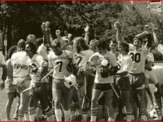 OSU Mens Lacrosse then and now Oregon state lax beer sponsorOSU Mens Lacrosse then and now Oregon state lax beer sponsor