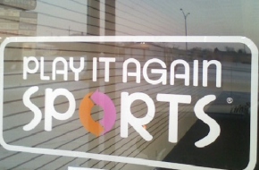 play-it-again sports window logo