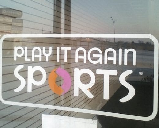 play-it-again sports window logo