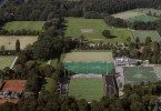 Sportvelden met Wagenerstadion (hockey) in het Amsterdamse Bos foto Peter Elenbaas