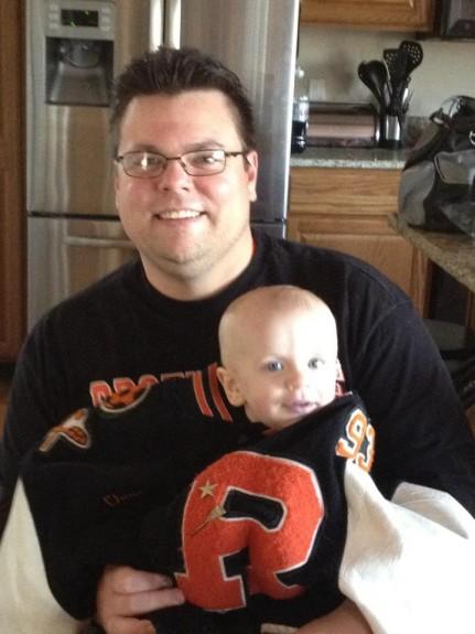 Brother Rice varsity jacket baby Chris Drouin