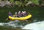 Montana Grizzlies White Water Rafting Lacrosse helmet
