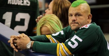 Chuck+Liddell+Super+Bowl+XLV+Green Bay Packers NFL