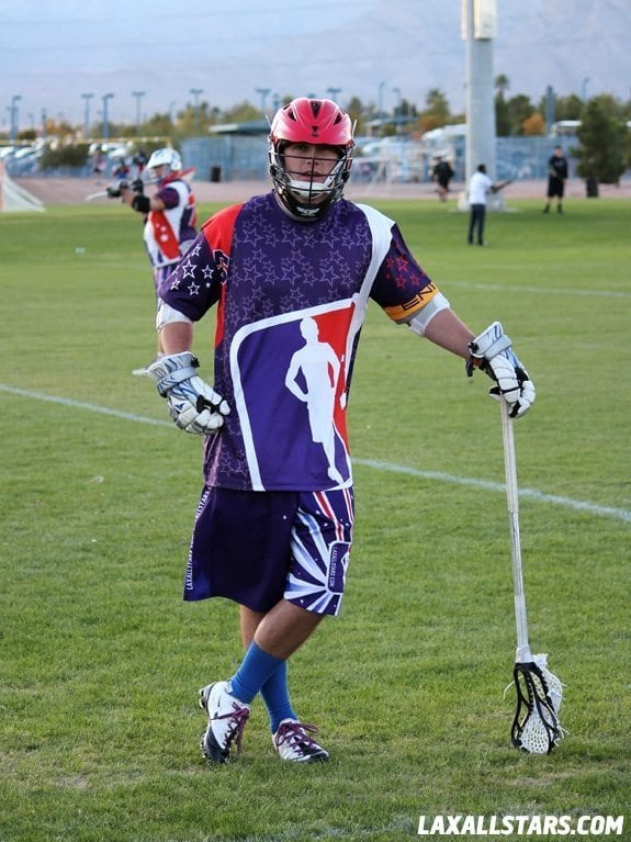 Las Vegas Lacrosse Showcase - Bigfoot LAS Striding Man