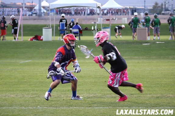 Las Vegas Lacrosse Showcase - Bigfoot LAS vs. Salt Shakerz 2