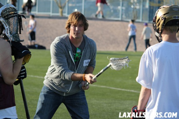 Las Vegas Lacrosse Showcase - Brett Hughes Clinic