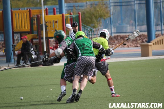 Las Vegas Lacrosse Showcase Champ Game Xiphos vs. Twisted Steel