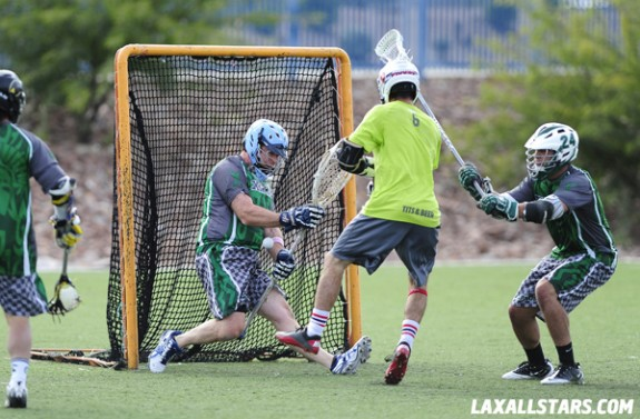 Las Vegas Lacrosse Showcase Champ Game Xiphos Goalie