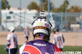 Las Vegas Lacrosse Showcase - Goalie Helmet Cam