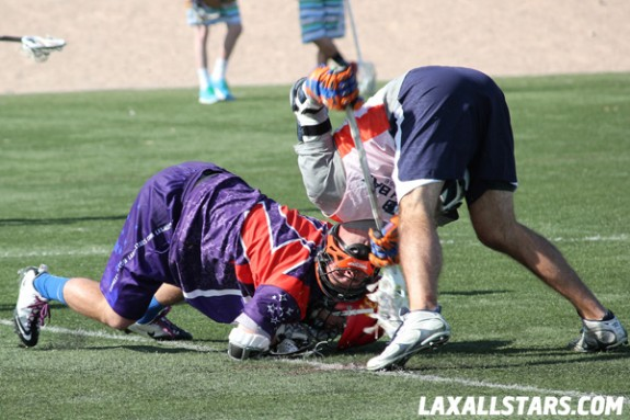 Las Vegas Lacrosse Showcase - LAS vs. South Bay Faceoff 3