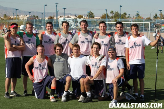 Las Vegas Lacrosse Showcase - South Bay Lax Team