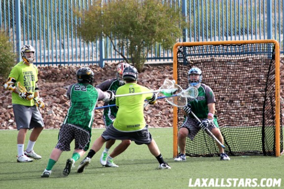 Las Vegas Lacrosse Showcase - Twisted Steel Goal