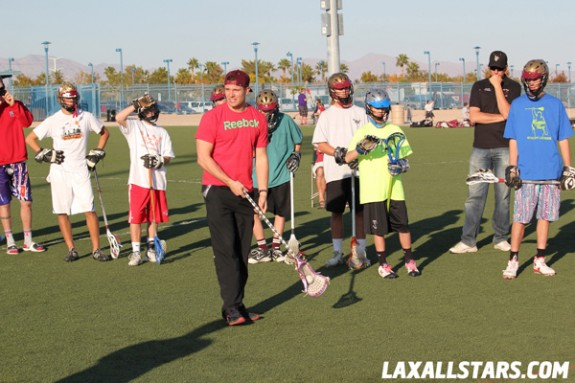 Las Vegas Lacrosse Showcase - Zack Greer Clinic