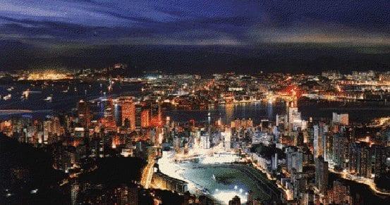 Hong Kong Lacrosse field urban area