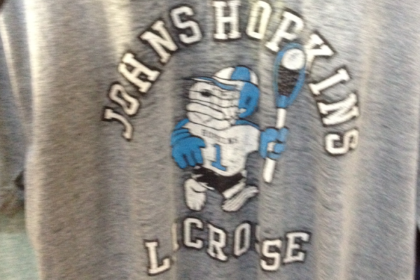 Johns Hopkins retro vintage t-shirt lax lacrosse