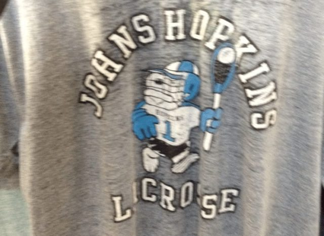 Johns Hopkins retro vintage t-shirt lax lacrosse