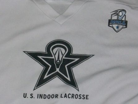 USIL NALL box lacrosse indoor tryout jersey