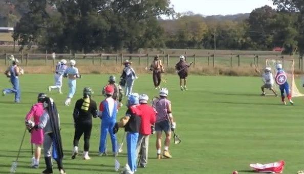 halloween lacrosse videos