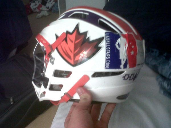Hawaii Laxallstars.com lacrosse helmet jordan mcintosh mll Nationals