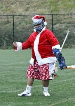 Lacrosse Santa