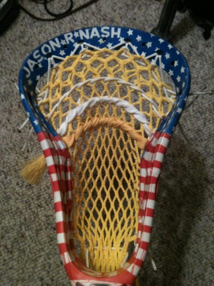 USA JasonR Nash Dye Job Lacrosse