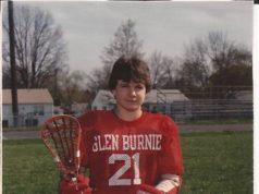 Paul Woody 1987 Glen Burnie High School lacrosse