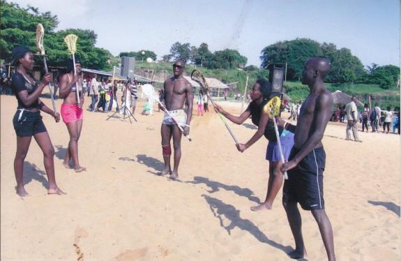 Uganda Lacrosse beach lax Ibra