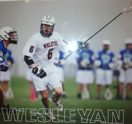 Connor Wilson Wesleyan Lacrosse Old School