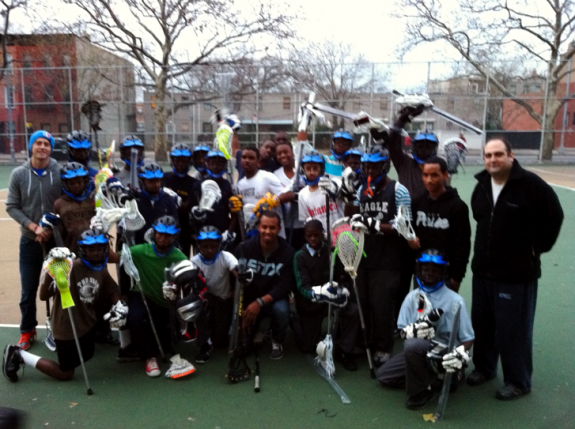 Eagle Academy Lacrosse Brooklyn Kyle Harrison