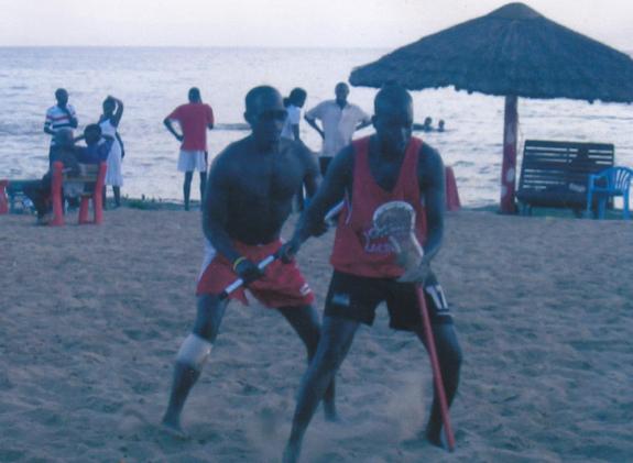 Uganda Beach Lacrosse