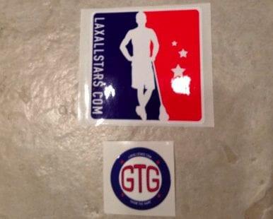 LaXAllStars.com Grow The Game stickers