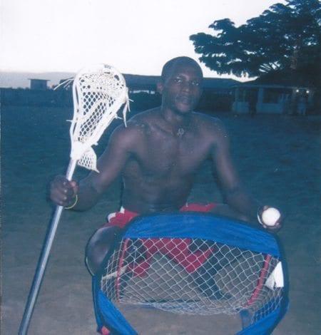 Uganda Beach Lacrosse Ibra Jafar
