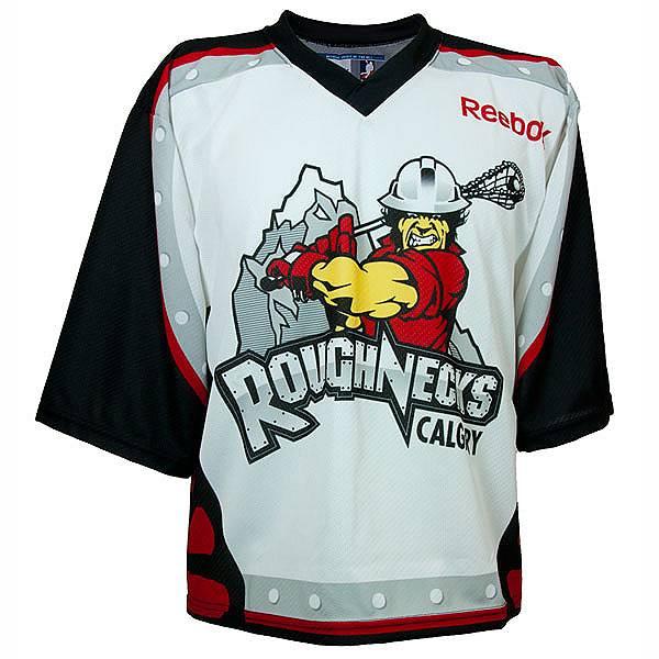 Calgary Roughnecks NLL Jersey Reebok Lacrosse