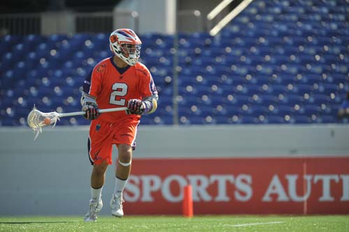 Boston Cannons v Hamilton Nationals Jeremy Boltus MLL
