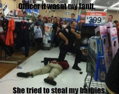 black friday arrest joke