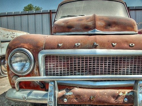 Rusty Brown Volvo
